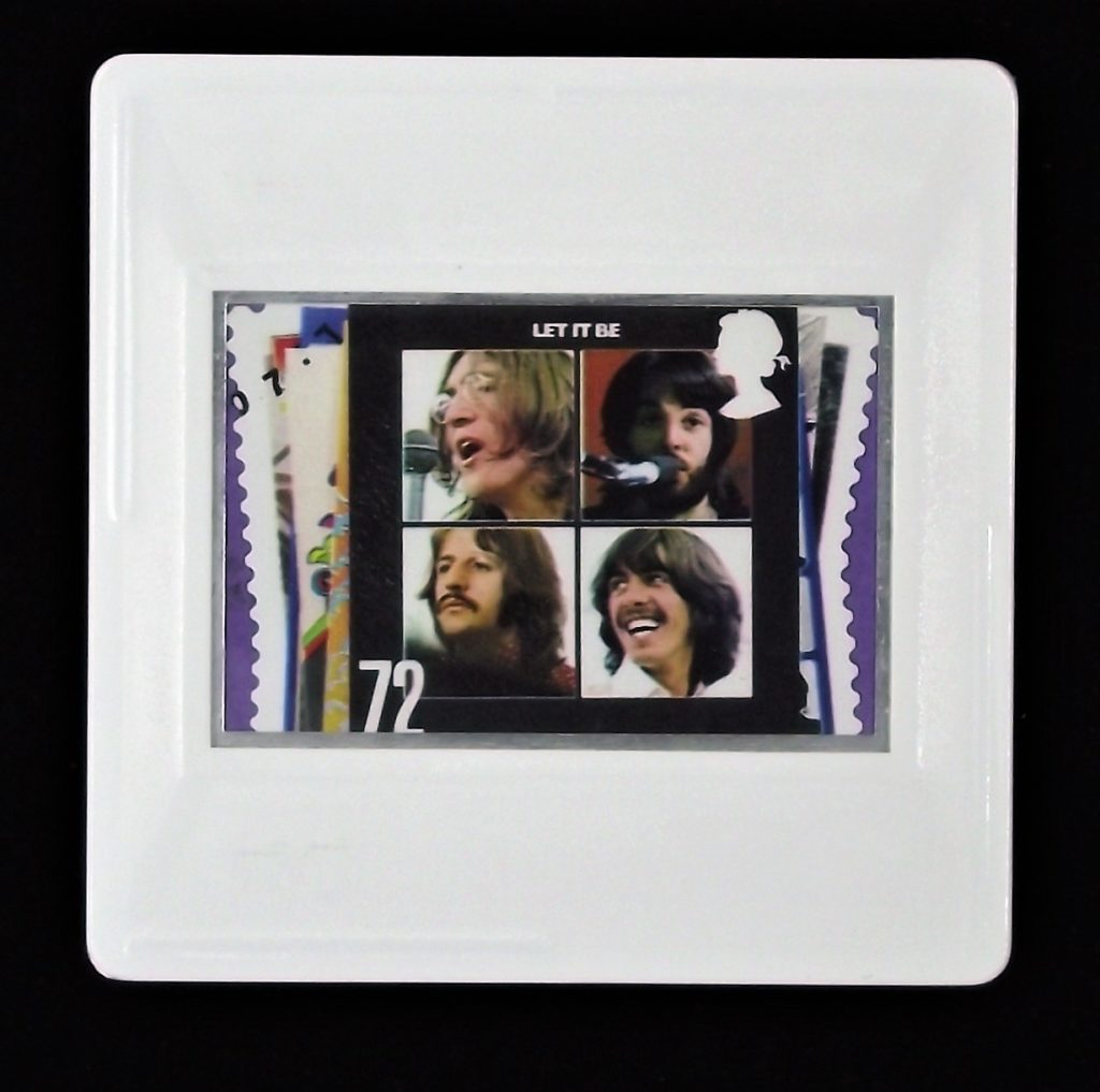 The Beatles Let It Be album cover brooch - music badges and brooches