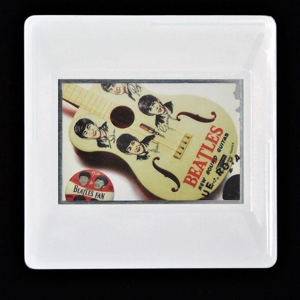 The Beatles guitar brooch