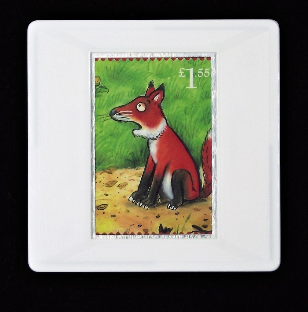 The Gruffalo - Fox brooch