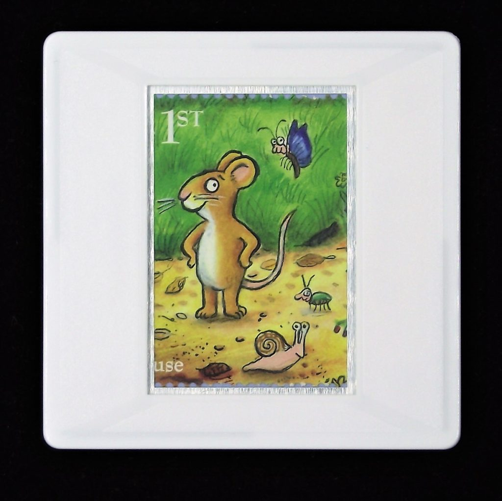 The Gruffalo- Mouse brooch