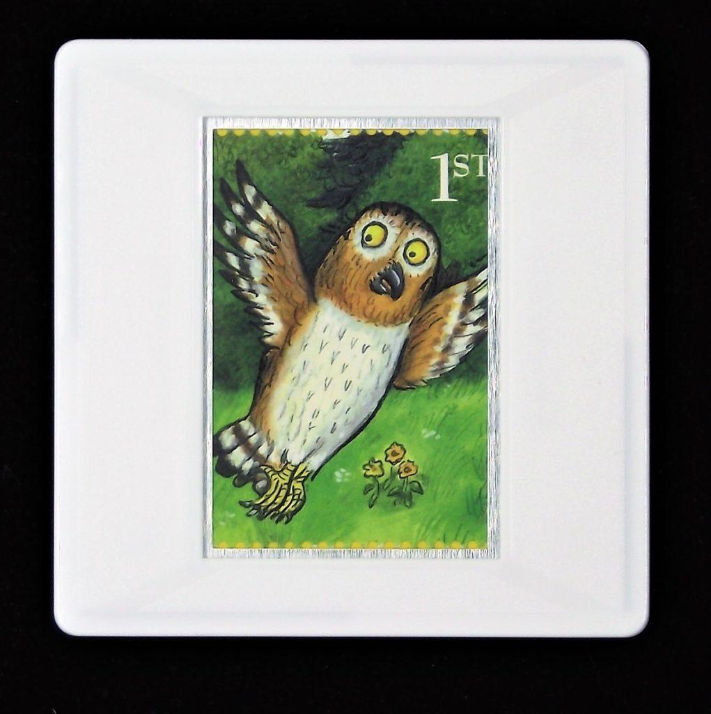 The Gruffalo- Owl brooch