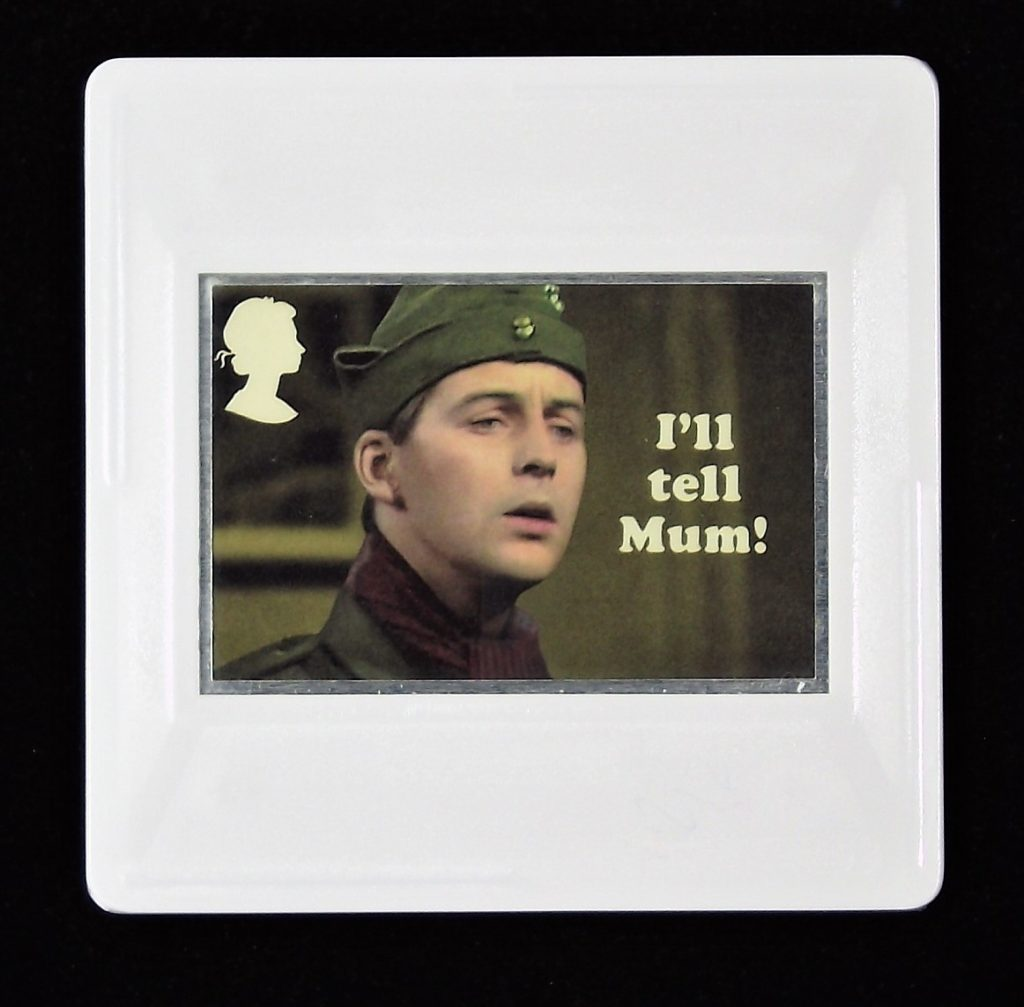 Dad's Army Brooch, Private Pike, Ian Lavender, I'll tell Mum!