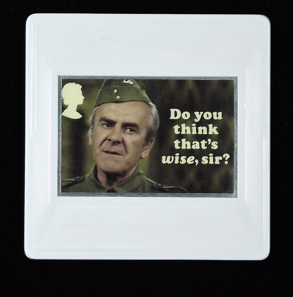 Dad's Army Brooch, Sergeant Wilson, John  Le Mesurier, Do you think that's wise, sir?
