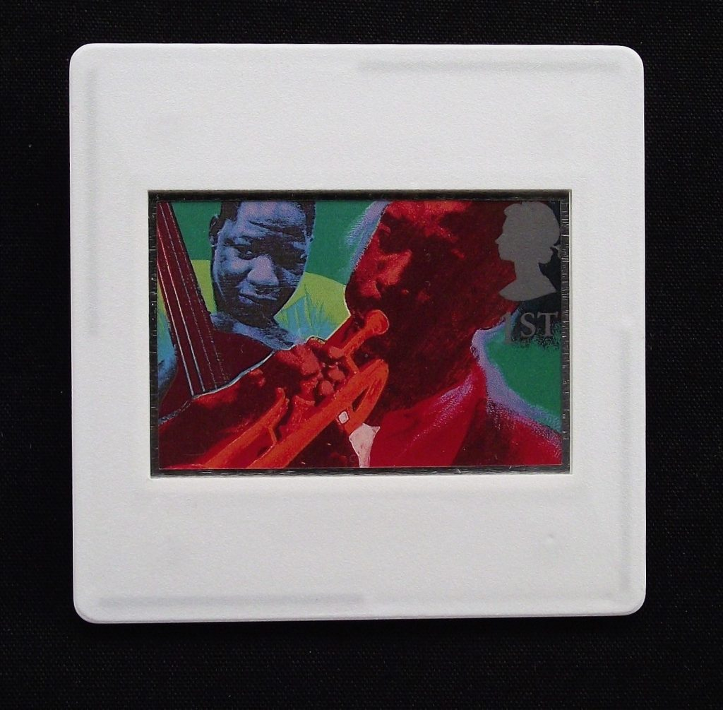 Andrew Mockett - Jazz Brooch Kenny Dorham, trumpeter and Bass player Curtis Counce