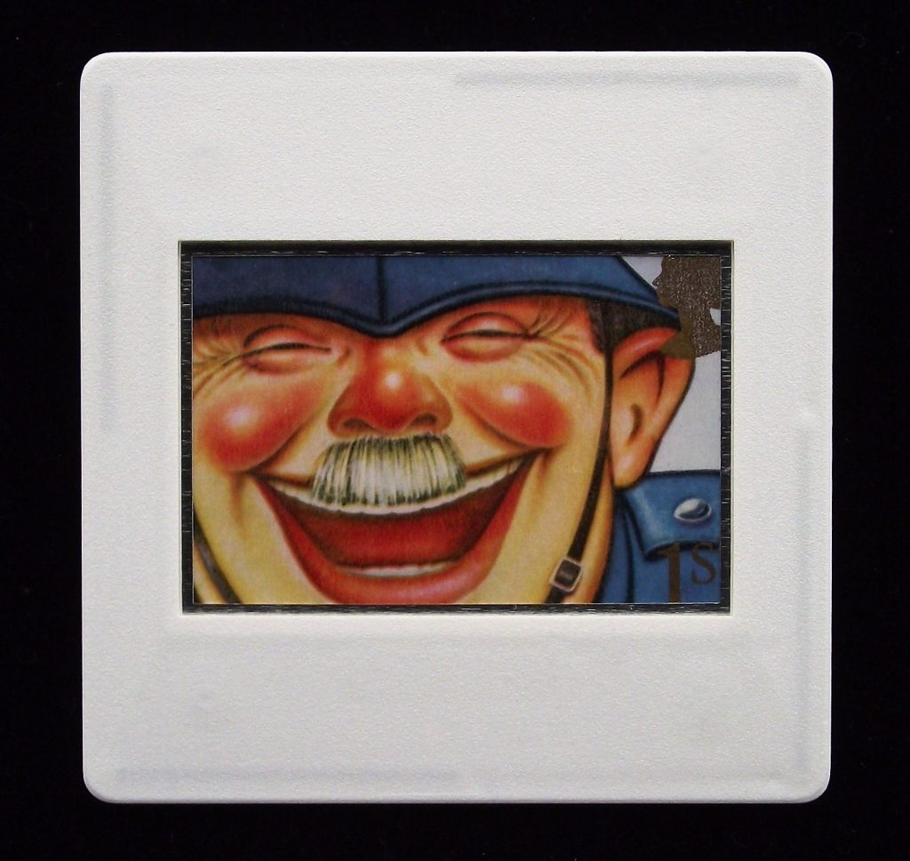 Laughing Policeman Brooch - Bill Dare