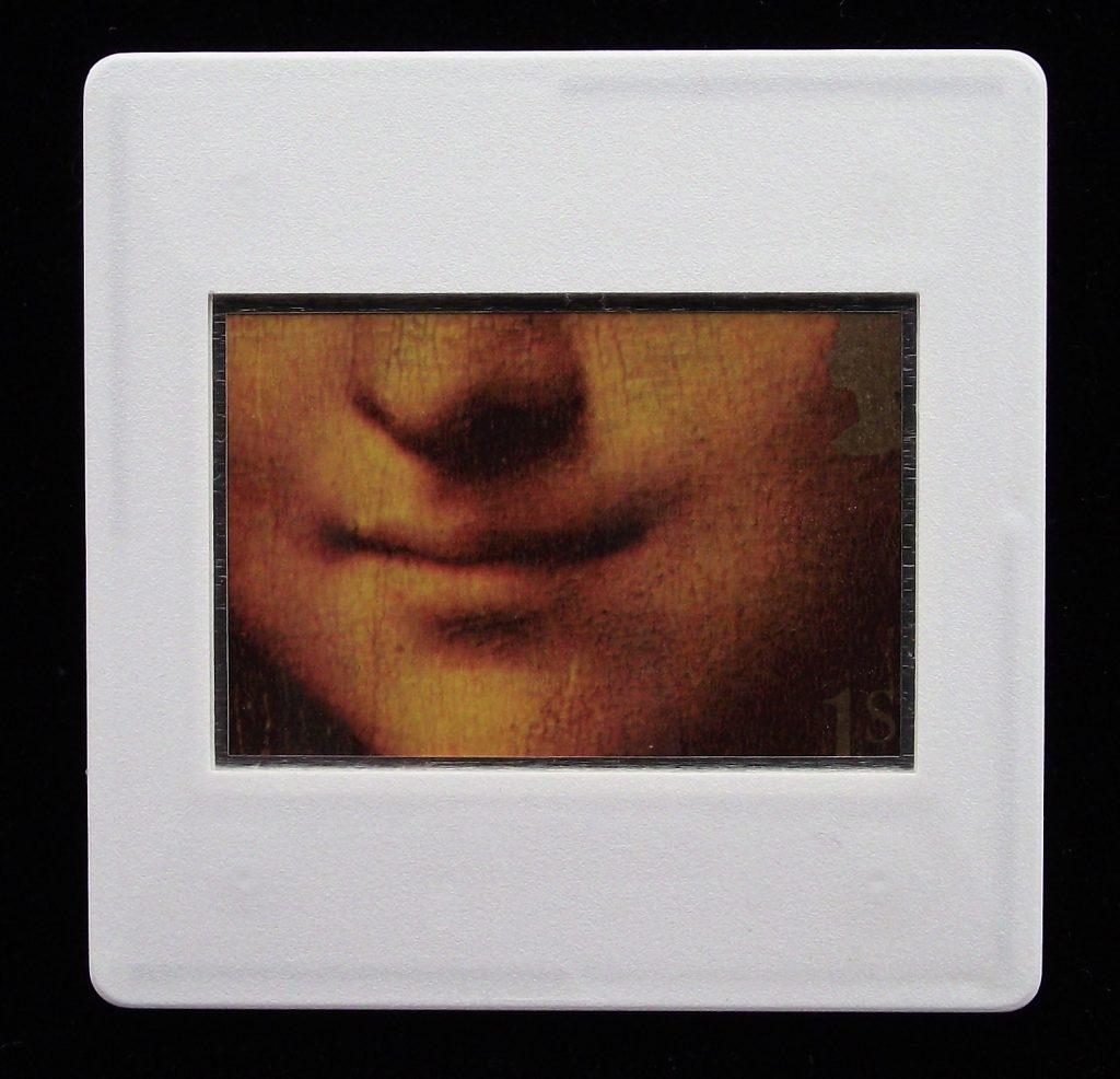 Mona Lisa Smile Brooch - Leonardo Da Vinci