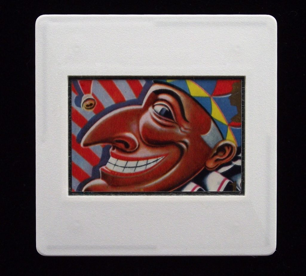 Mr Punch Smile Brooch - Kevin Hauff